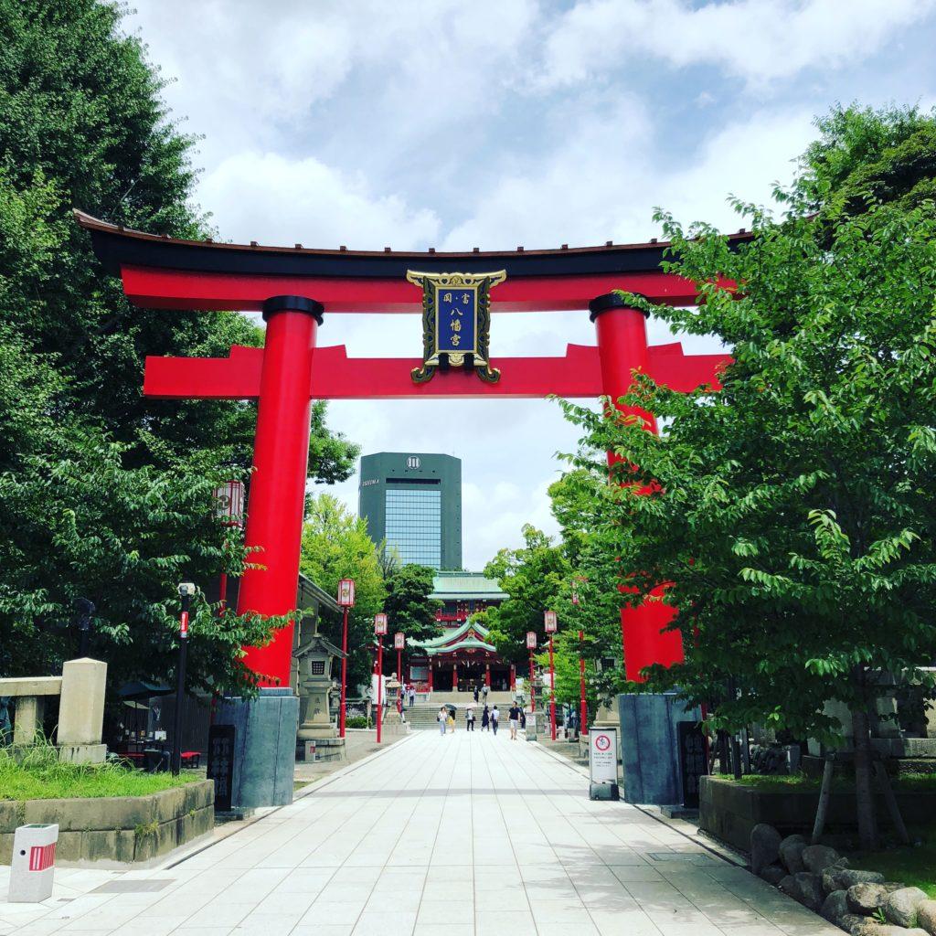 富岡八幡宮,神社,鳥居