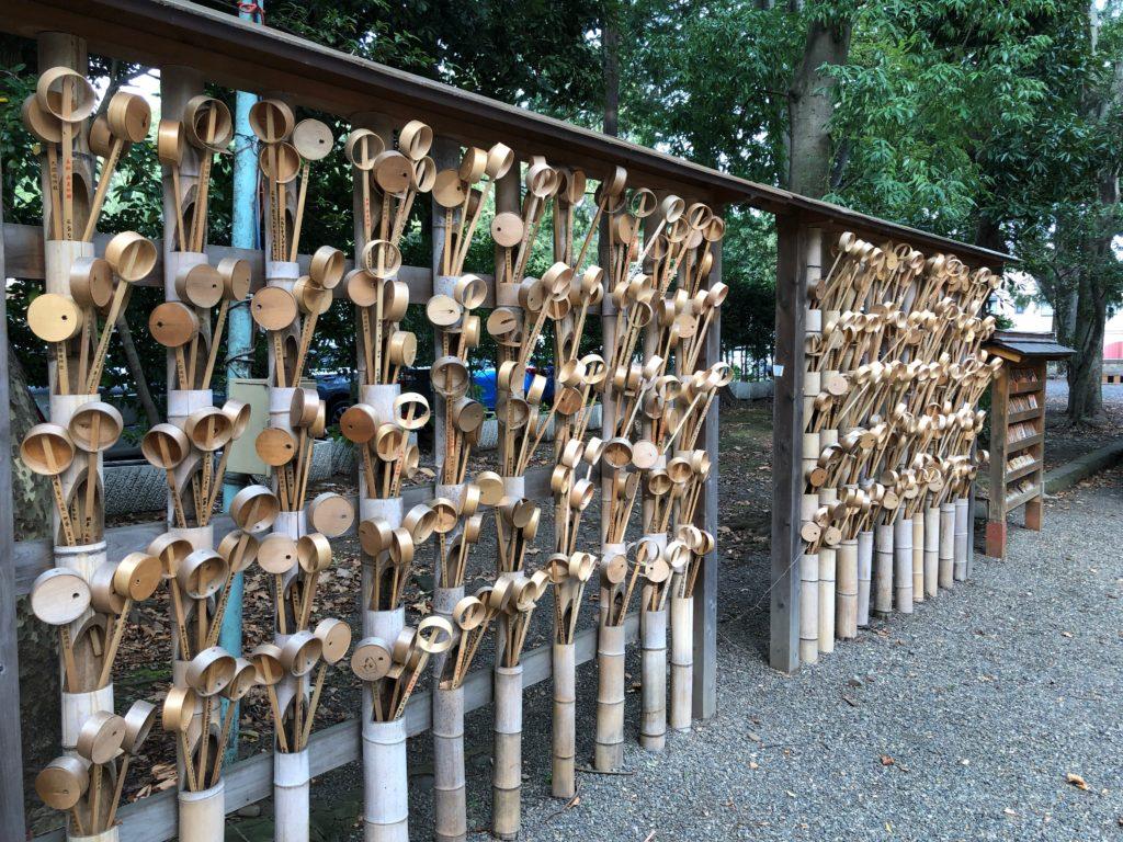 源頼朝の妻、北条政子の安産を祈願した神社